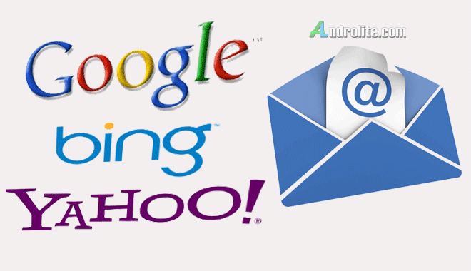 Cara Membuat Email Google, Yahoo, Bing (Lengkap Gambar)