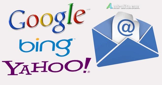Cara Mudah Buat Email Google Gmail Yahoo Bing Terbaru 2021 Androlite Com