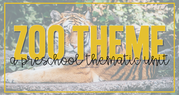Zoo Preschool Unit Plans & Resources