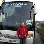 Ik voor de Setra van Ava Coach (GB)