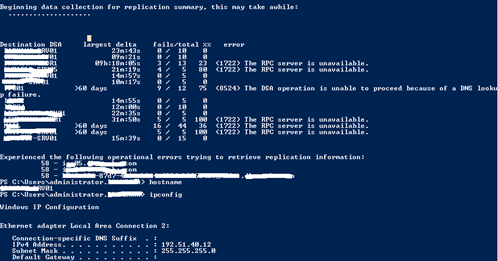 Hemal Ekanayake: How to Recover from (1722) RPC Server is