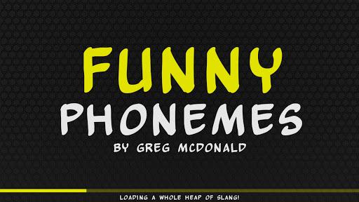 Creating Communicators: Funny Phonemes App Review