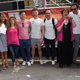 OIC - ENTSIMAGES.COM - Alicya Eyo, Gemma Oaten, Daniel Brocklebank, Gemma Atkinson, Guy Henry and Joe McFadden at the    Pride in London Parade  27th June 2015  27th June 2015   Photo Mobis Photos/OIC 0203 174 1069
