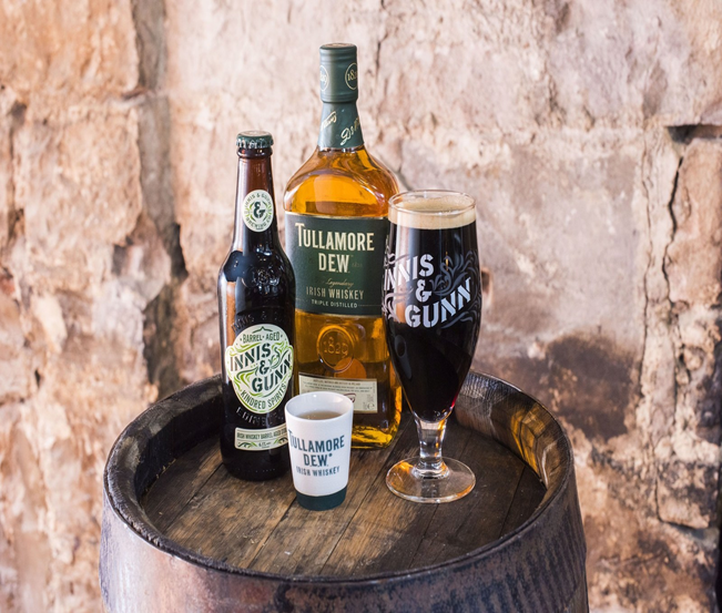 Innis & Gunn and Tullamore D.E.W. To Launch New Limited Edition Irish Whiskey Barrel Aged Stout
