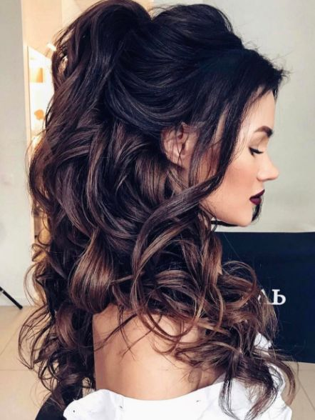 Latest Wedding Hairstyles For Long Hair 1