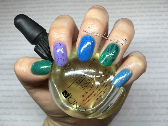Liverpoollashes Liverpool Lashes Notd The Fotten Nail Of Day Angel Paper Cnd Sac Art Basil