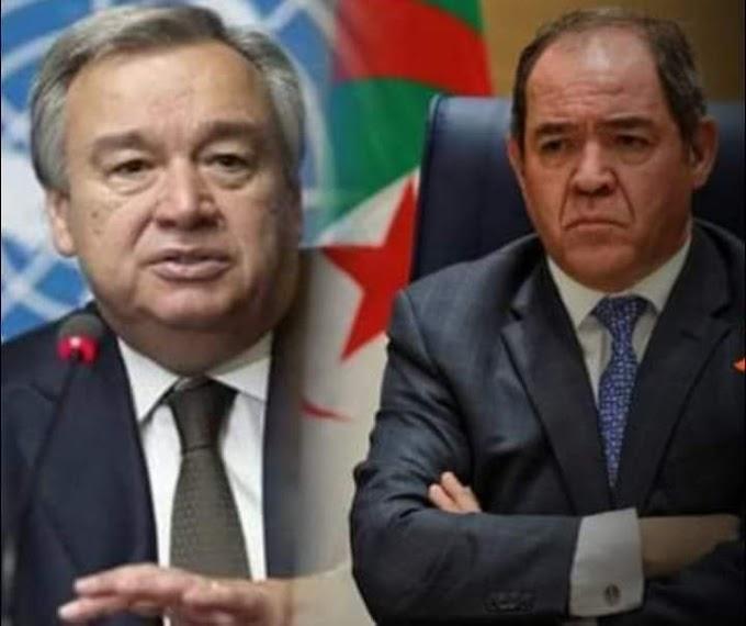 Ministro de Exteriores de Argelia pide con insistencia a Guterres designar un nuevo enviado para el Sáhara Occidental.