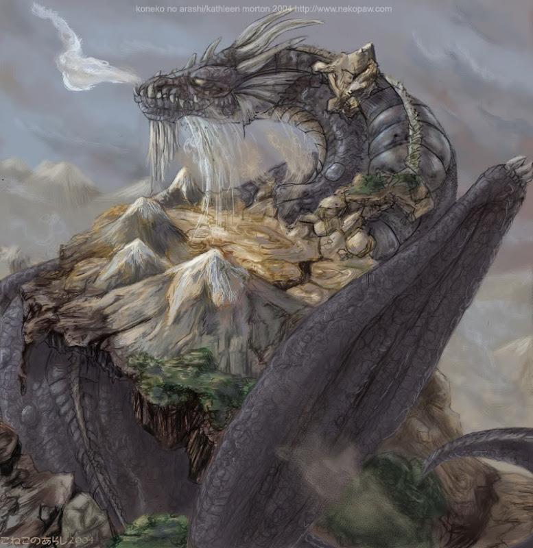Earth Dragon Wings, Dragons