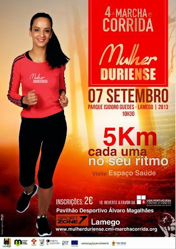 Lamego corre a 7 de setembro para fins solidários - 4ª Marcha e Corrida da Mulher Duriense