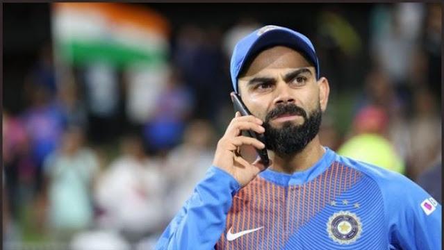 Smartphone of Viral Kohli Has Gone Viral - VIVO IQOO 5G
