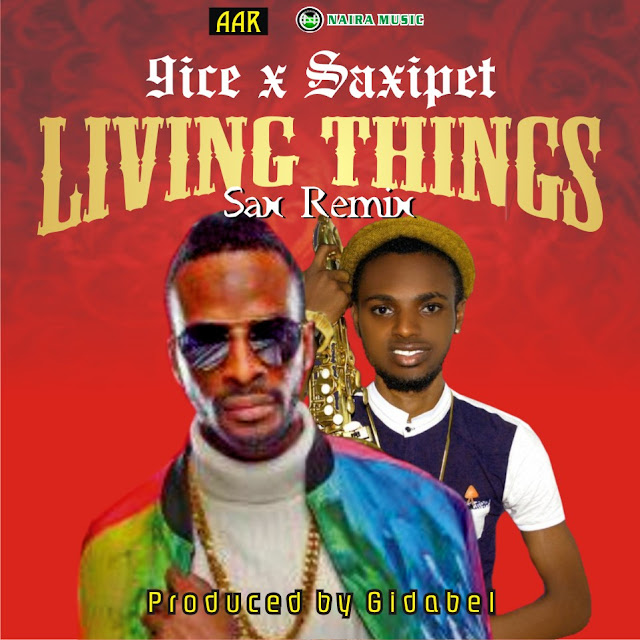 [Music] 9ice - Living Things Ft. Saxipet (Sax Cover)