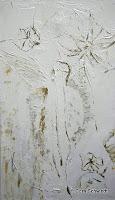 """Blüten im Himmel"", Öl auf Leinwand, 49x100, 2005, verkauft"