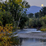Full Moon Morning Missoula, Montana © Patrick Clark. Prints available at www.patrickclark.com