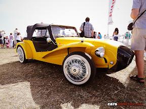 Yellow classic Citroen