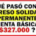 ¿ Qué pasó con el Ingreso Solidario Permanente / Renta Básica Permanente de $327.000?