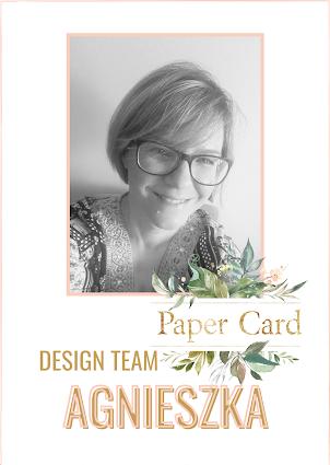 Inspirowałam dla DT Paper Card