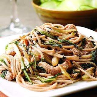 Pork & Bok Choy Stir-Fry for Two