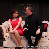 Amy Lamena and Mark Stephens in LEADING LADIES - October 2011.  Property of The Schenectady Civic Players Theater Archive.