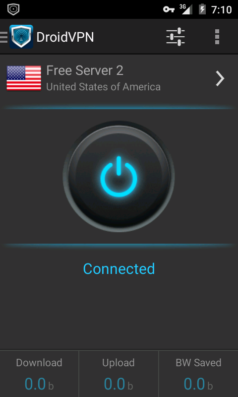 DroidVPN - Android VPN- screenshot