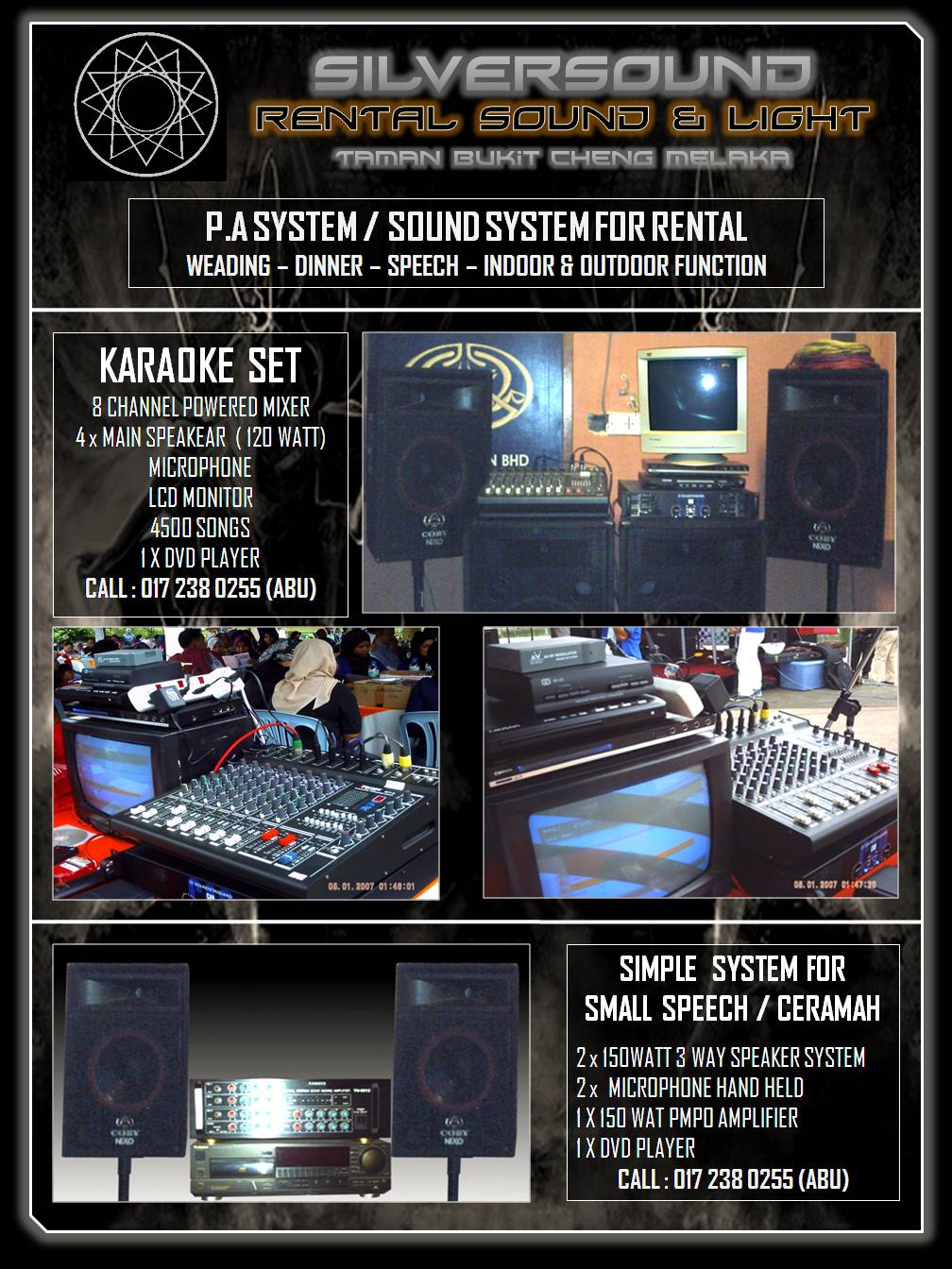 Silver Sound Entertainment Sound System Dj Karaoke For