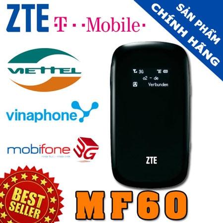 thiet bi phat song wifi tu sim 3g zte mf60