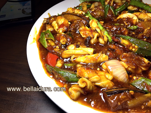 masakkan, resepi, sotong, mohammad chow