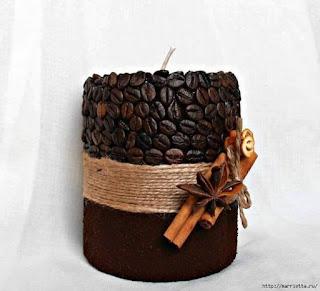 Resultado de imagen para Cuadros realizados con granos de café