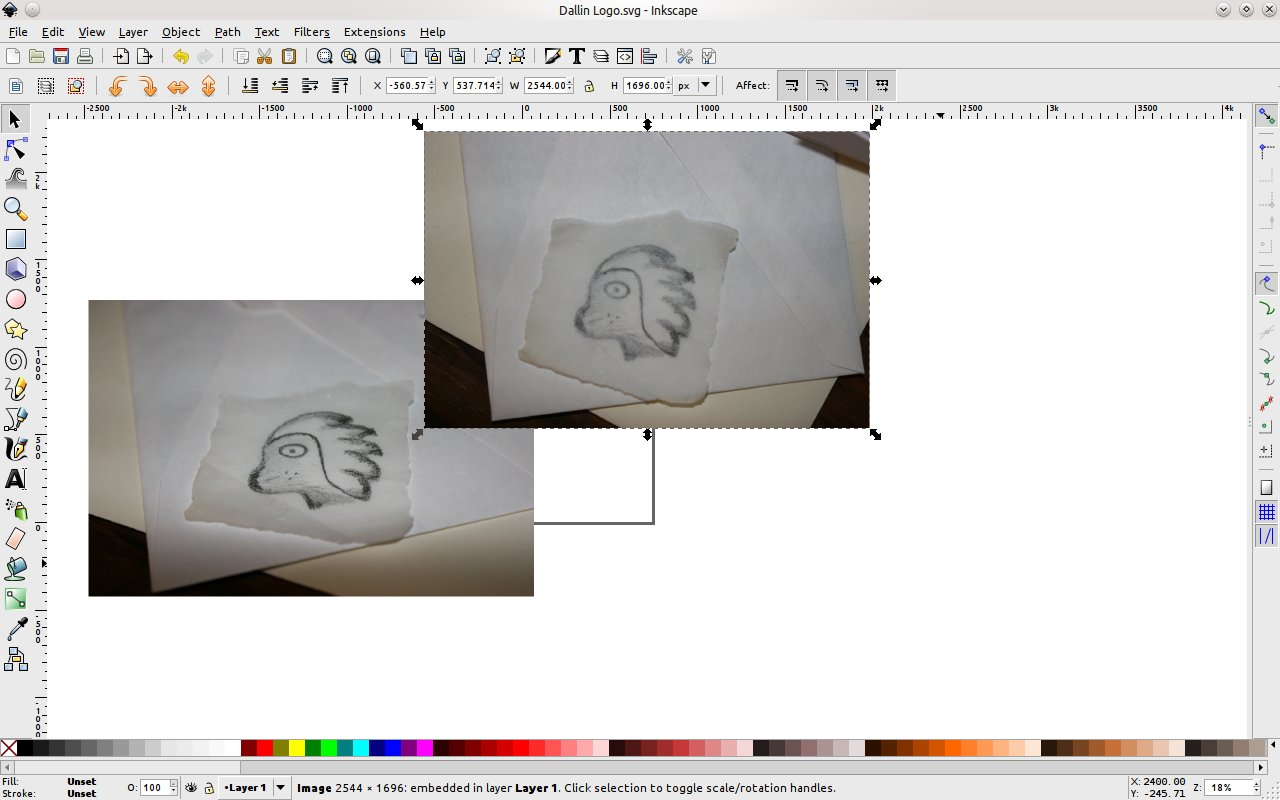 How to create an icon or logo from an existing drawing using