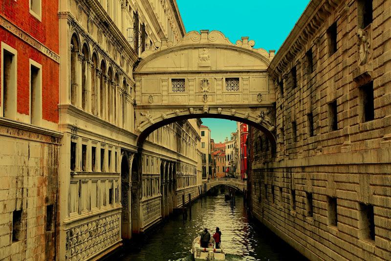 Ponte dei Sospiri - Venezia di Alda_B