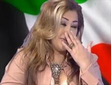 مذيعة كويتية تبكي على الهواء