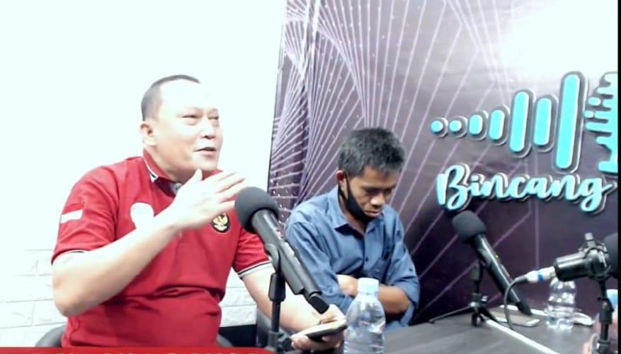 Ketua IWO Soppeng Bincang Santai di Kanal Fans Page