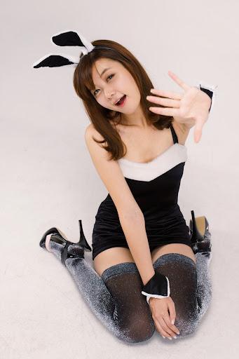 Pleasure bunny nylons heels
