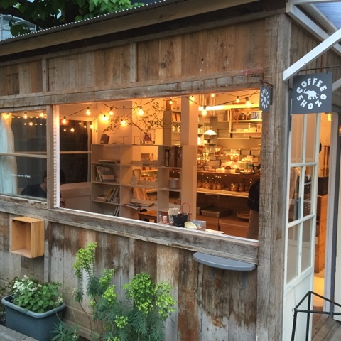 Adorable coffee shop at Commune 246 in Tokyo
