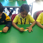 Giraffe's Wrist Band Activity (Sr.KG.) 11-11-2014
