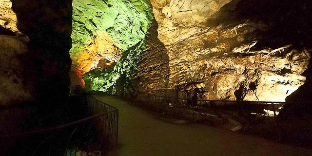 Borra Caves in Vizag