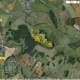 Localisation des photos entre Chevigny (au Nord) et Semur-en-Auxois (au Sud)