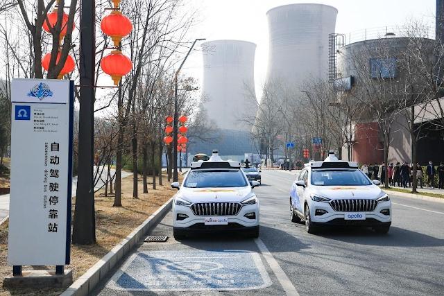Robotaxi : El primer servicio de taxis robots ya funciona en China