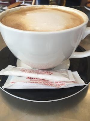 Santjago ceļš. 24. diena. Kafija.