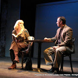"Cristine M. Loffredo and Tim Orcutt in ""Sure Thing"" as part of THE IVES HAVE IT - January/February 2012.  Property of The Schenectady Civic Players Theater Archive."