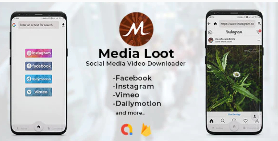 Media Loot Video Downloader App Source Code