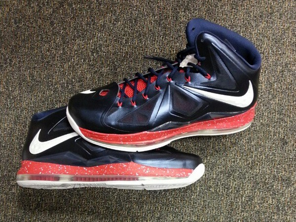 King James' Veterans Day LeBron X Player Exclusive | NIKE ...