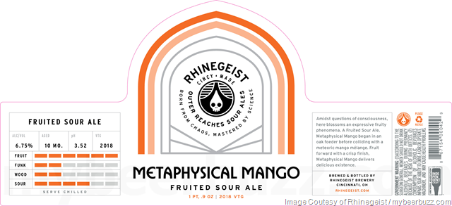 Rhinegeist Outer Reach Sour Ales - Infinite Blonde & Metaphysical Mango