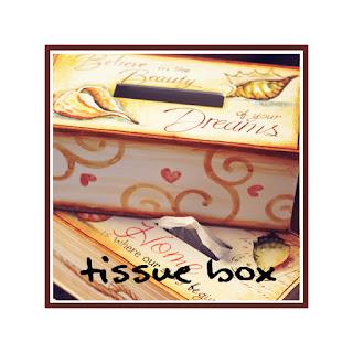 HỘP KHĂN GIẤY- TISSUE BOX