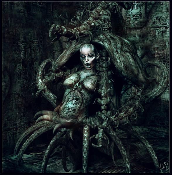 Evil Spider Girl, Evil Creatures 2