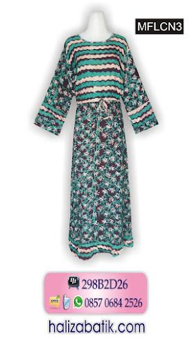 motif batik pekalongan, gambar baju batik modern, baju wanita