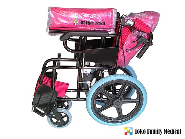 kursi roda aluminium kecil