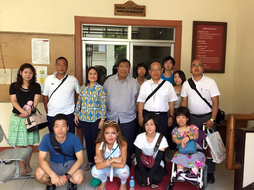 Visitors from Shikoku Gakuin University, Japan