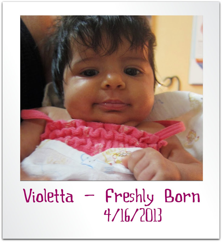 Happy 1st Birthday from Spirit of Life to  Violetta