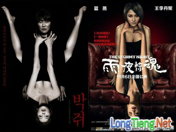"""Cạn lời với những poster """"học hỏi"""" xứ kimchi quá đà của phim Hoa Ngữ - Ảnh 9."""