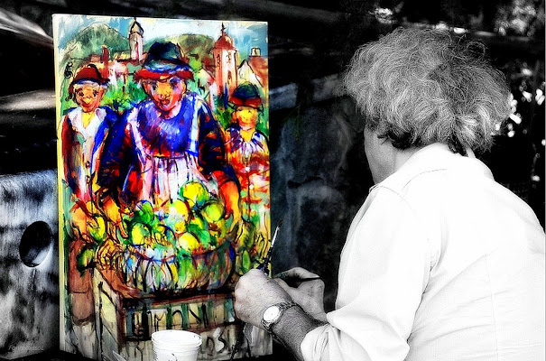L'artista pittore di Luciano Fontebasso